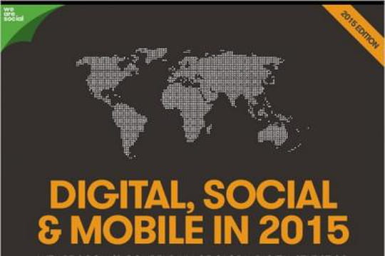We Are Social détaille les tendances du digital, social et mobile pour 2015