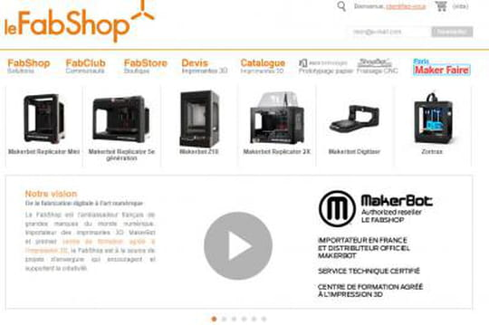 Fabshop, spécialisé dans l'impression 3D, cherche à lever 1,2 million d'euros
