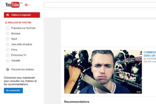 Youtube propose désormais un player HTML5 par défaut