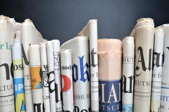 Résultats 2013 titres presse quotidien