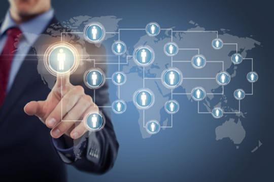 Les réseaux sociaux dans le Cac 40