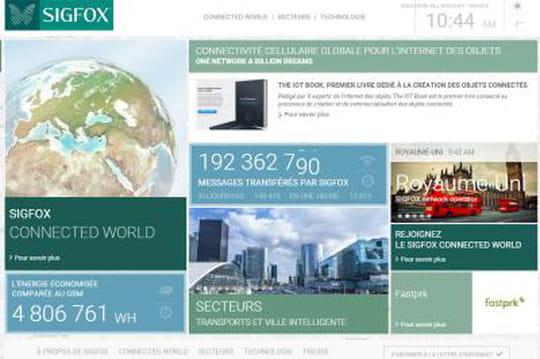 Sigfox levée de fonds 100 millions d'euros 0215