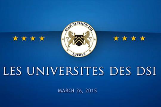 Club Décision DSI : Universités des DSI 1502