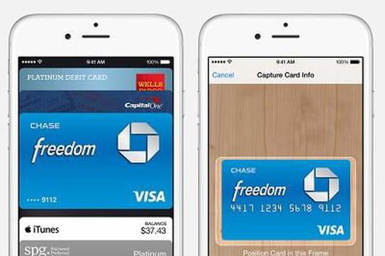 démarrage Apple Pay