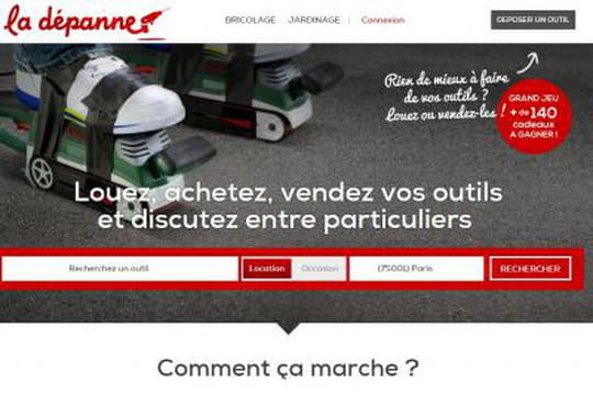 Site bricolage for Location outils entre particuliers