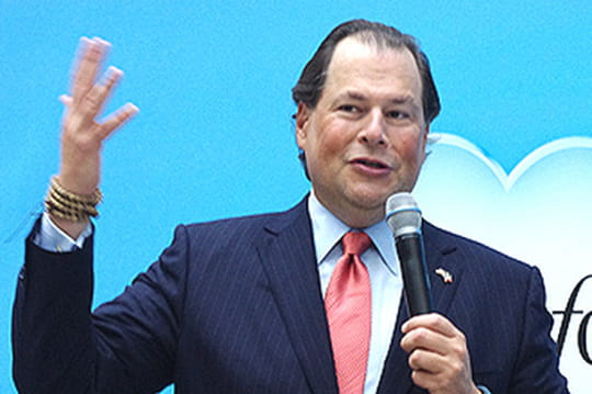 Salesforce va investir 1 milliard de dollars en France