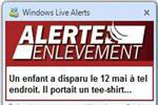 Alerte enlèvement sur le Web