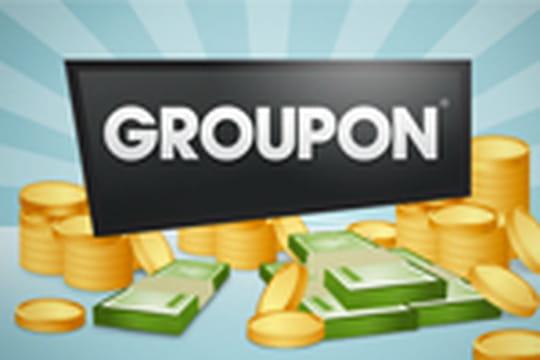 Entrée en bourse Groupon