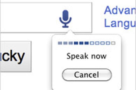 Google voice et image search