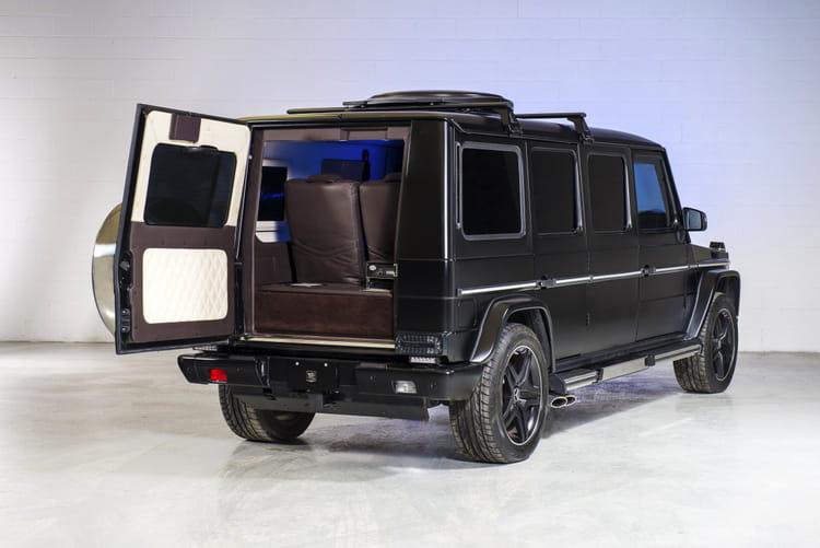 Un véhicules conçu pour résister aux détonations
