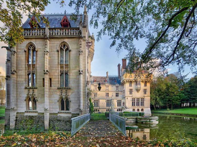 Le château a été entièrement rénové au 19e siècle
