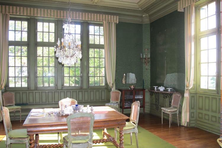 Une seule et unique salle à manger pour tout le château