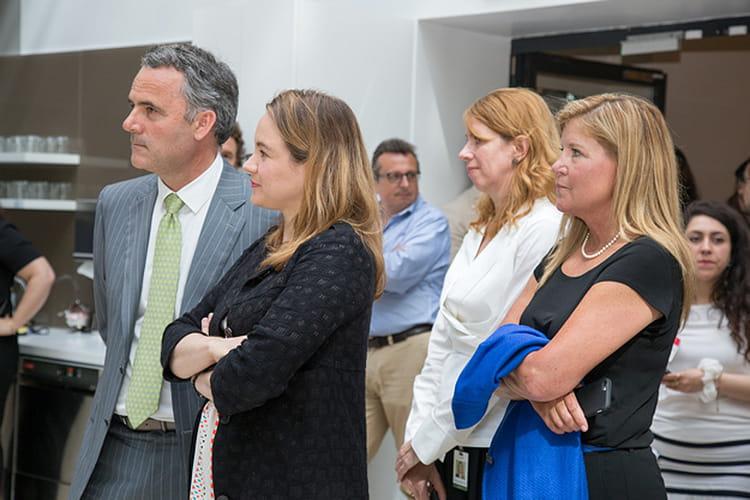 La présence de Polly Sumner, Chief Adoption Officer de Salesforce... et Lynn Vojvodich, CMO