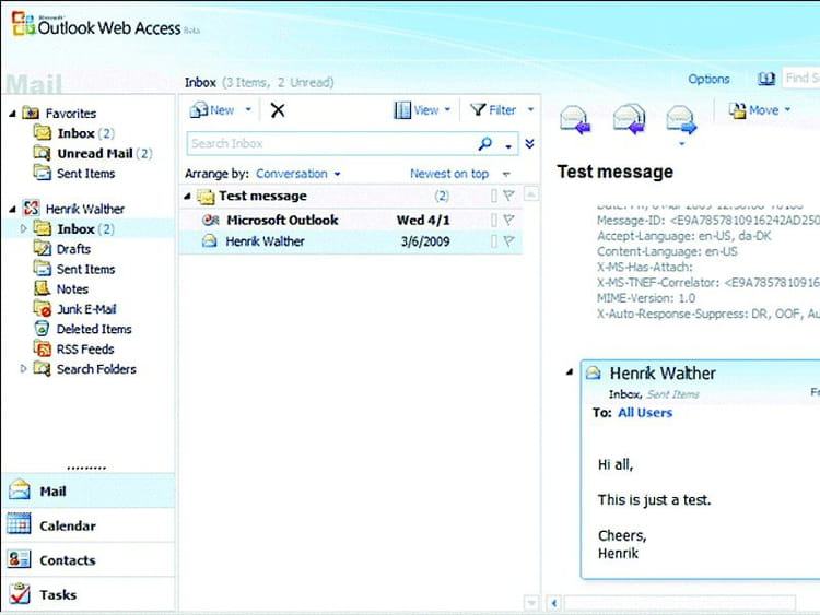 13e - Outlook Web Access