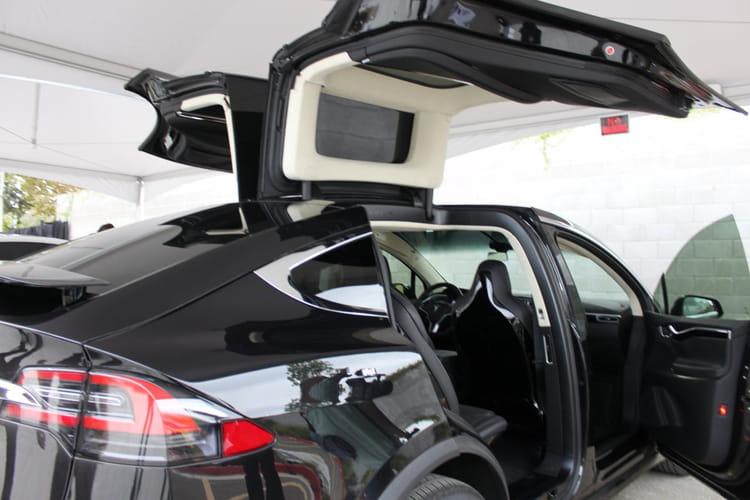 La Model X est une vraie oeuvre d'art technologique