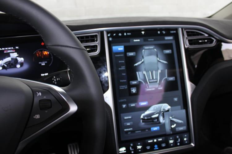 La Model X est futuriste
