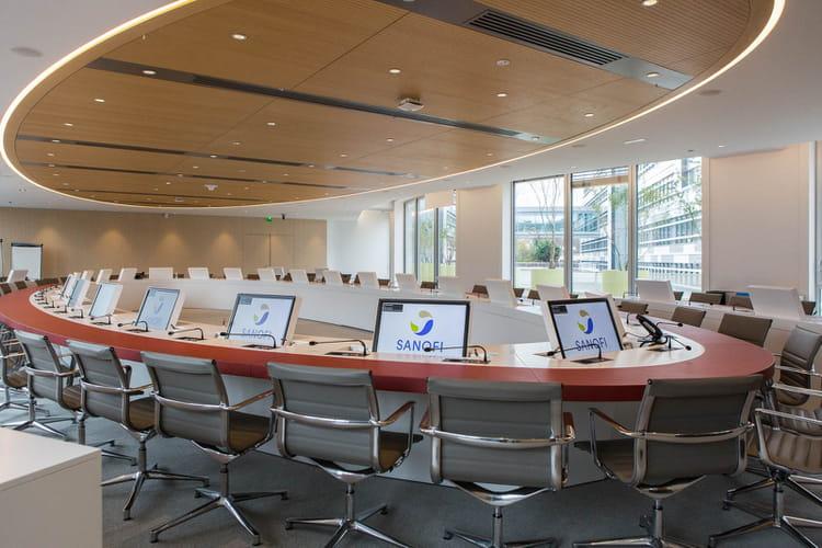 La salle du comité européen