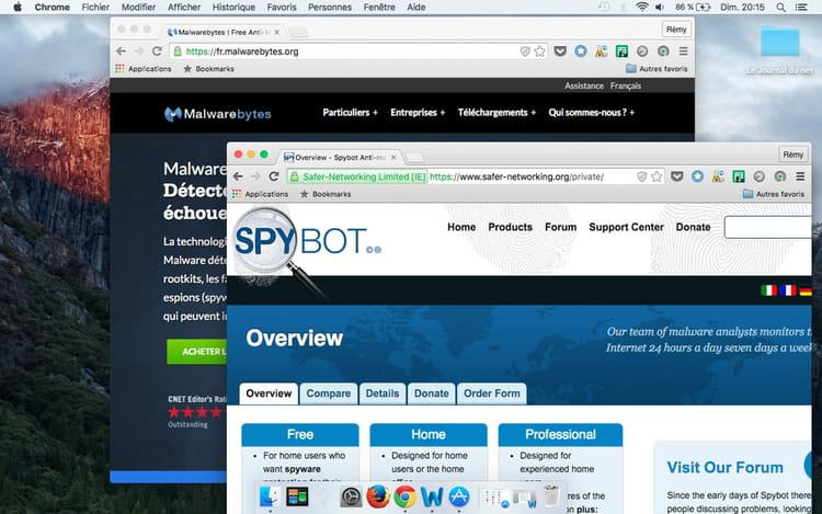 Télécharger un anti spyware