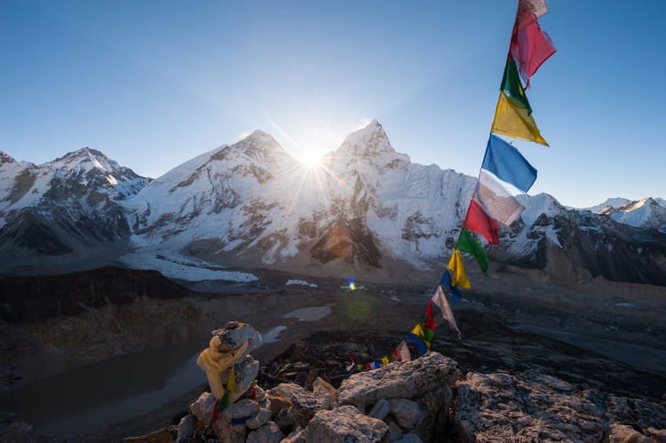 Le Mont Everest, Népal