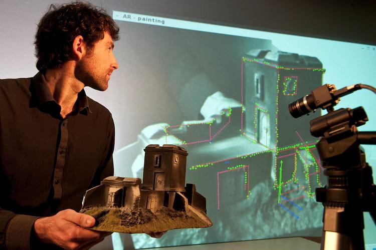 Incrustation de vrais objets dans une réalité virtuelle