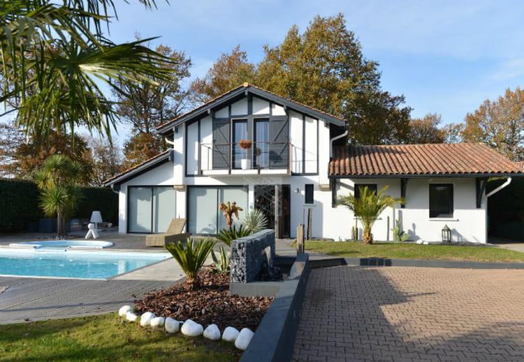 Une villa contemporaine à Biarritz