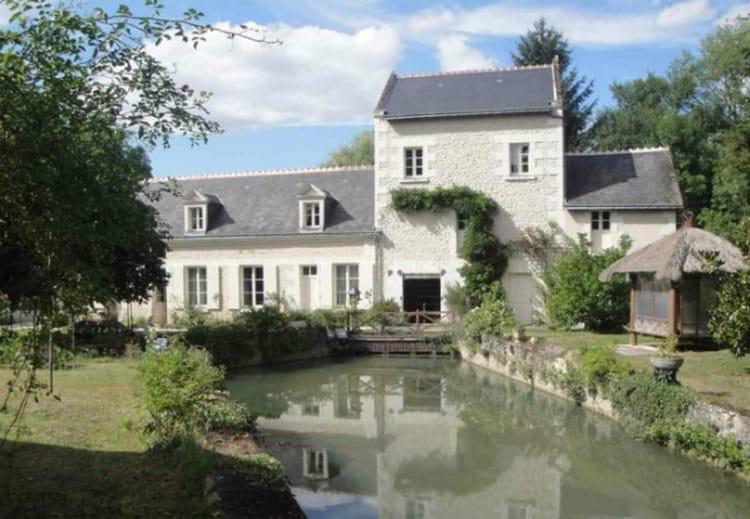 Un moulin dans l'Indre-et-Loire