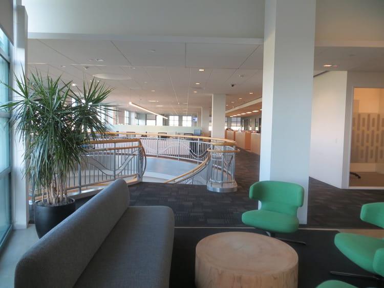 Des nouveaux locaux modernes