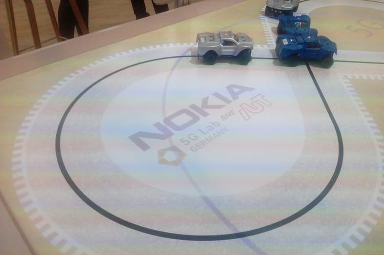 Mini voitures autonomes de Nokia
