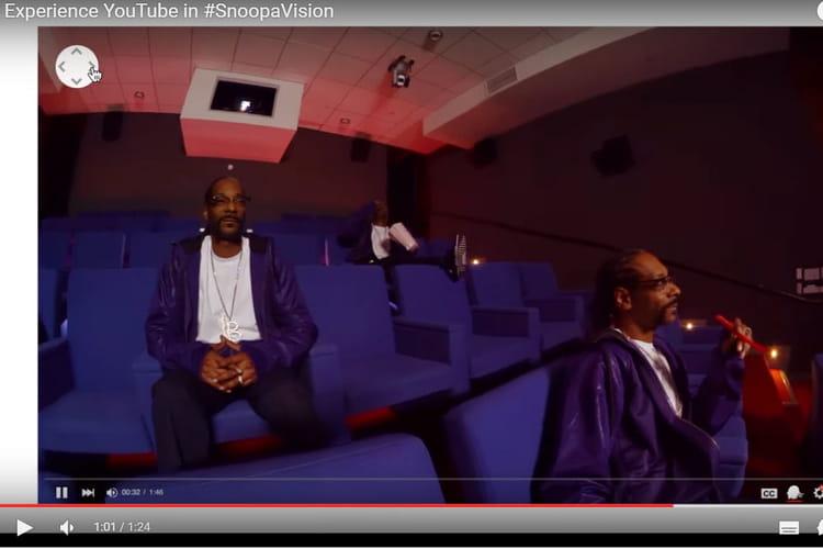 Yootube imagine la SnoopaVision à 360 degrés