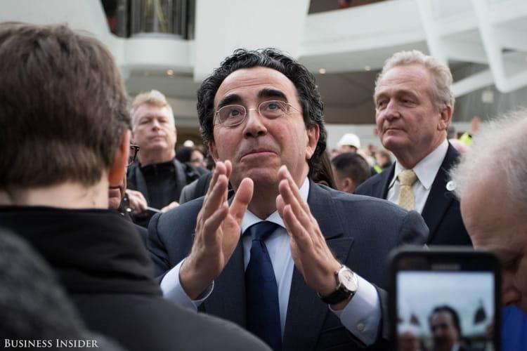 Calatrava était également présent