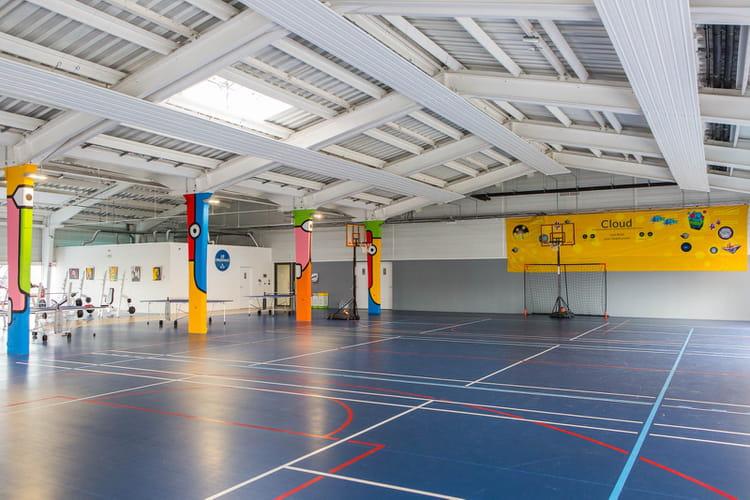700 m² dédiés à la détente et au sport