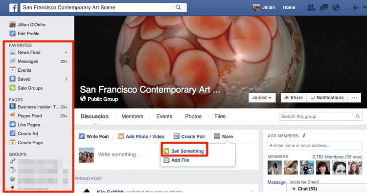 Quelques différences avec un groupe Facebook classique