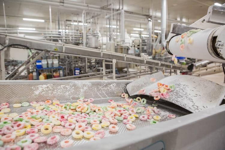 Un nettoyage des bonbons