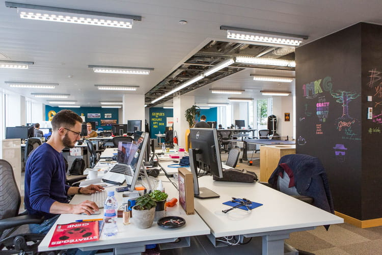 Des bureaux ouverts et connectés