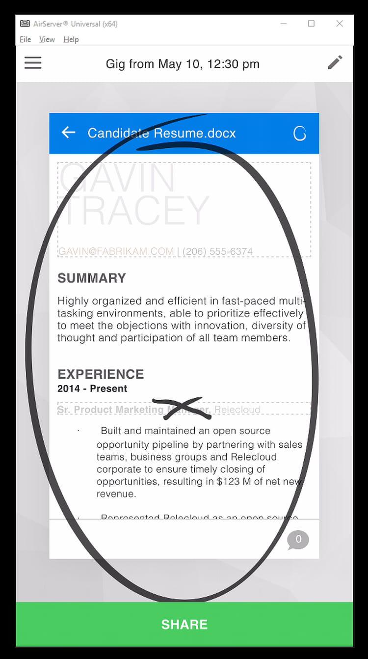 L'annotation tactile au service de la collaboration