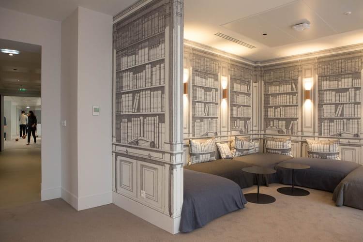 "Une ""bibliothèque"""