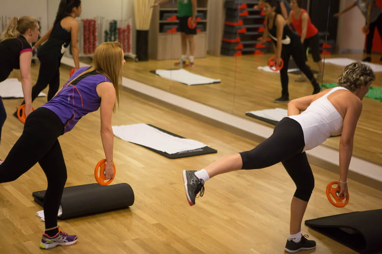 Un centre de fitness