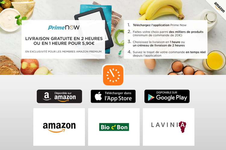 Amazon Prime Now change de dimension en devenant une marketplace