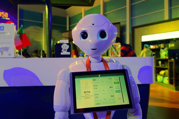 Des robots en guise de personnel non navigant