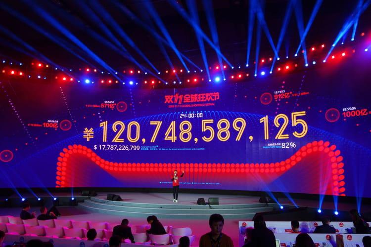 A minuit, 17,8milliards de dollars de volume d'affaires total