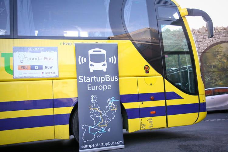 LeWeb Paris 2012 : Startup Bus Europe