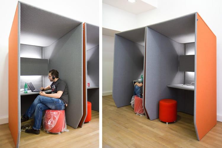 Des boxes pour s 39 isoler lors des visio conf rences - Solution pour isoler du bruit ...