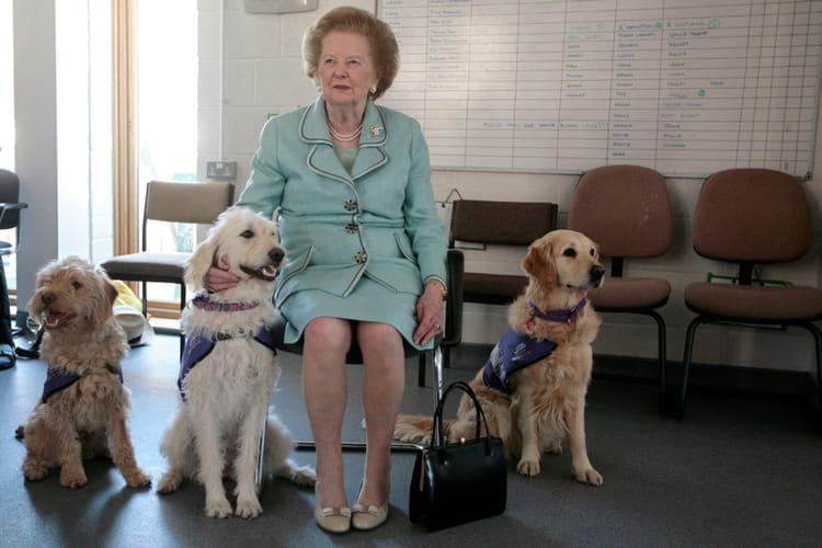 a l u0026 39 inauguration d u0026 39 un centre canin   margaret thatcher   sa vie en photos