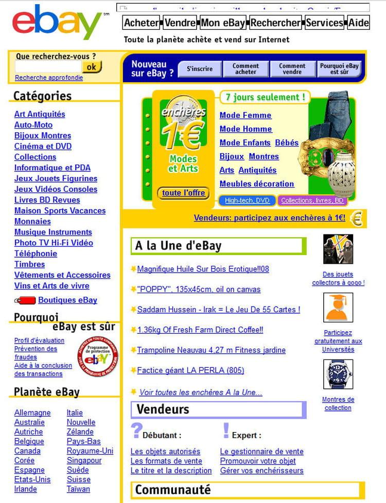 eBay en 2003
