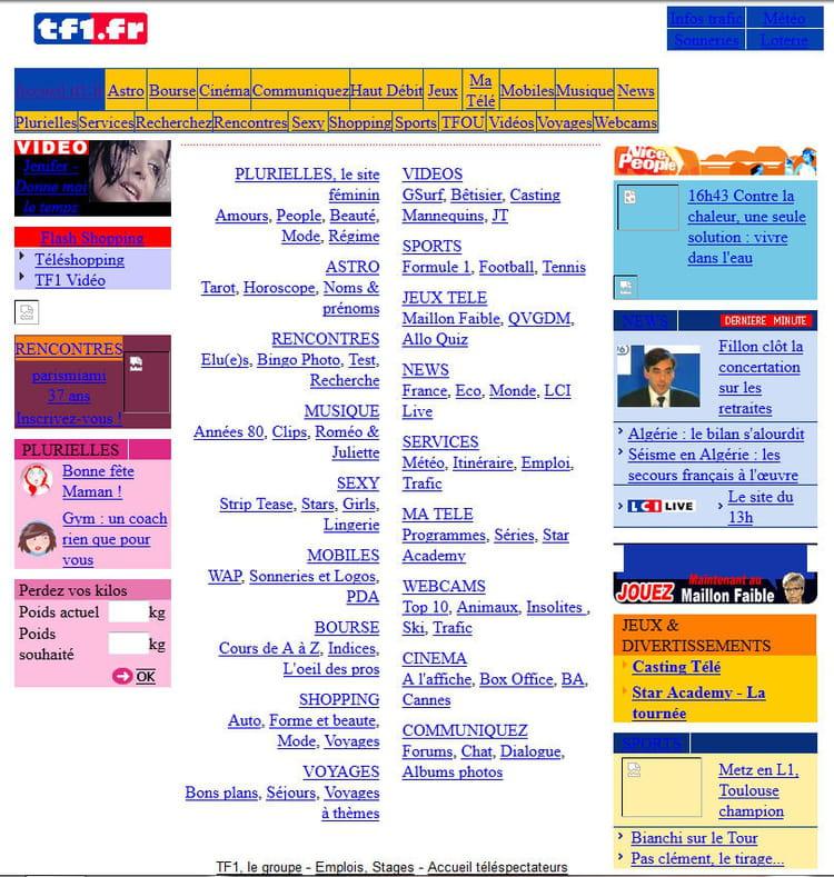 TF1 en 2003