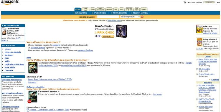 Amazon en 2003