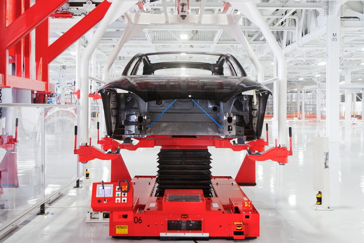 Usine Tesla Motors