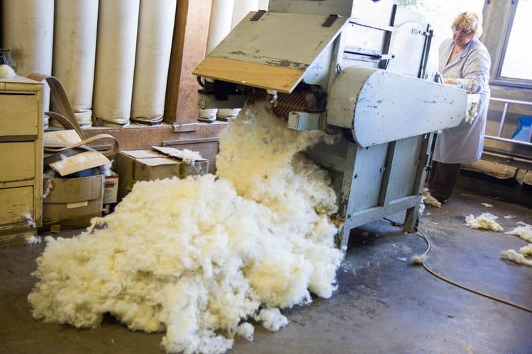 Préparation de la laine