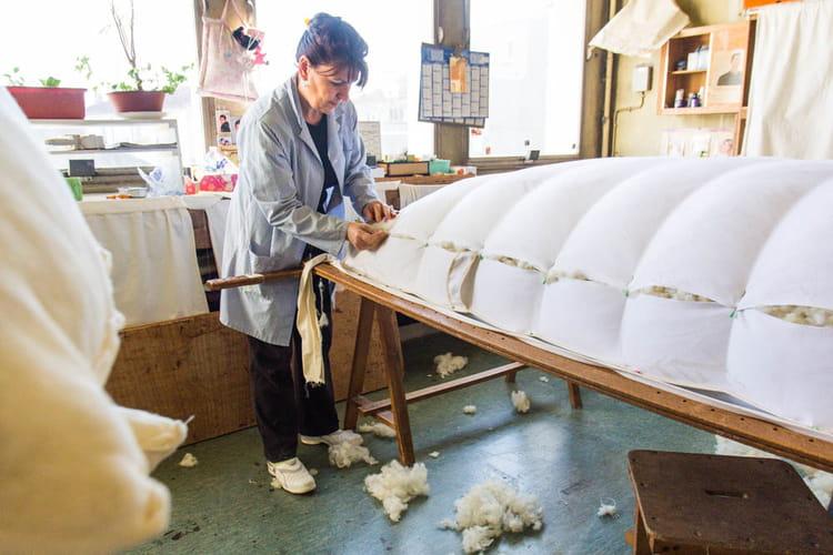 18 kg de laine pour faire un matelas une personne - Comment faire un matelas ...
