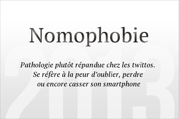 Nomophobie